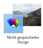 Nicht gespeichertes Design