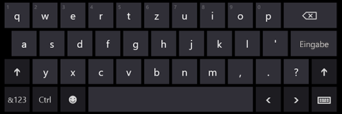 Bildschirmtastatur