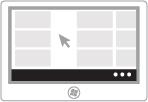Afbeelding van het weergeven van opdrachten voor toepassingen
