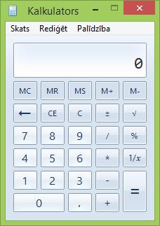Kalkulatora logs